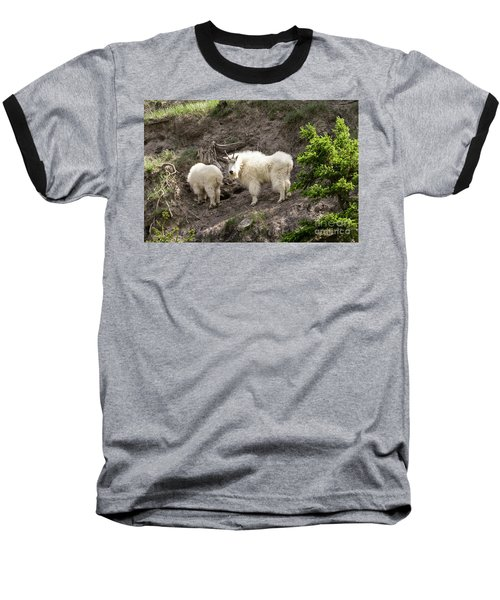 Mt Goat Outing Baseball T-Shirt