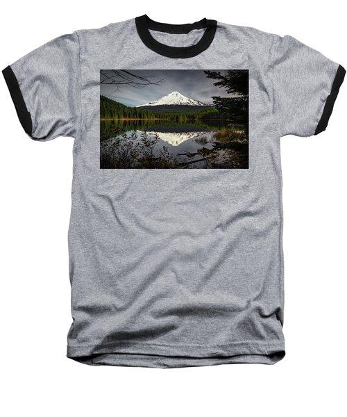 Mt Hood Reflection Baseball T-Shirt