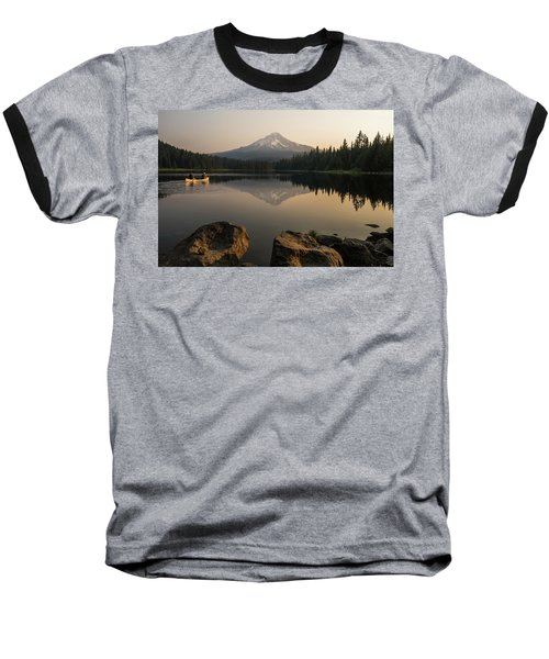 Mt Hood Sunrise  Baseball T-Shirt