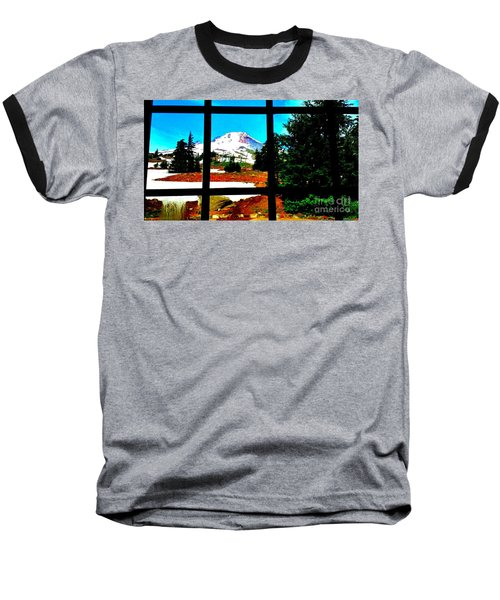 Mt. Hood View Baseball T-Shirt