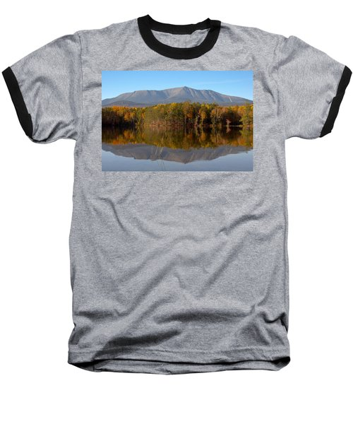 Mt Katahdin Baxter State Park Fall 1 Baseball T-Shirt by Glenn Gordon