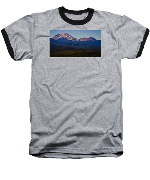 Mt Lassen And Chaos Crags Baseball T-Shirt
