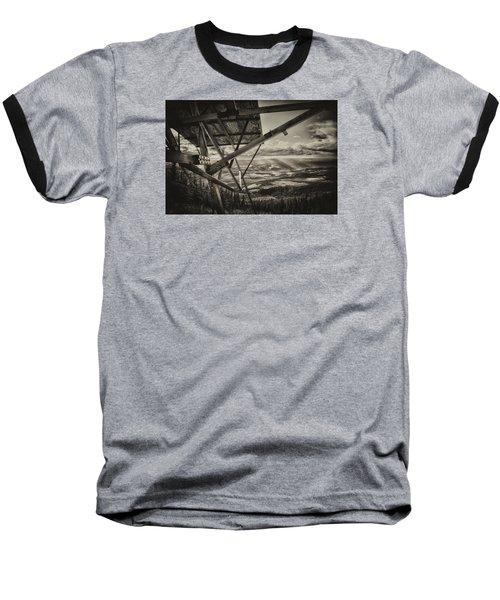 Mt Lolo Hang Gliding Ramp Baseball T-Shirt by Theresa Tahara