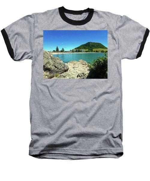 Mt Maunganui Beach 13 - Tauranga New Zealand Baseball T-Shirt