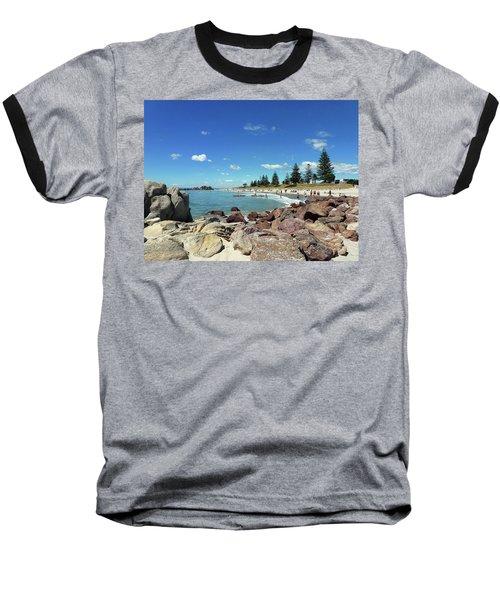 Mt Maunganui Beach 3 - Tauranga New Zealand Baseball T-Shirt
