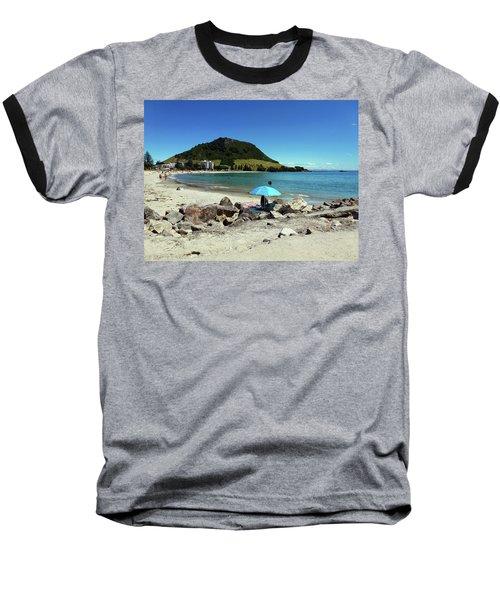 Mt Maunganui Beach 5 - Tauranga New Zealand Baseball T-Shirt