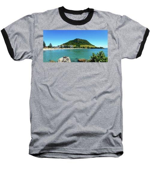 Mt Maunganui Beach 7 - Tauranga New Zealand Baseball T-Shirt