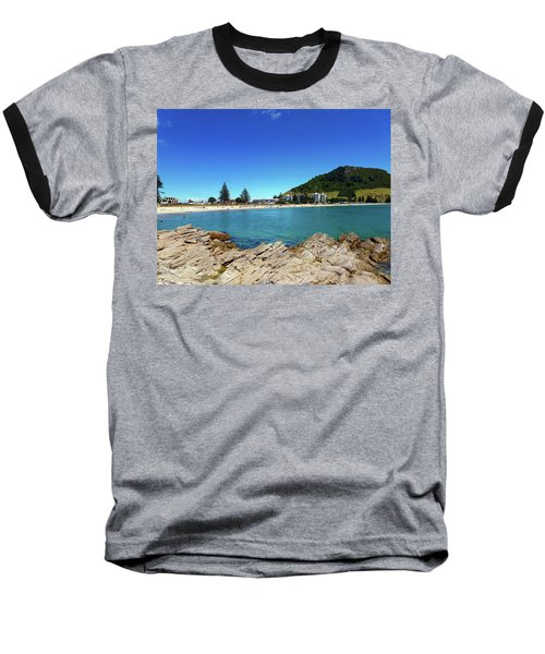 Mt Maunganui Beach 9 - Tauranga New Zealand Baseball T-Shirt