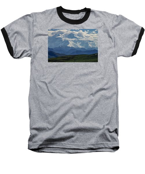 Denali Baseball T-Shirt by Gary Lengyel