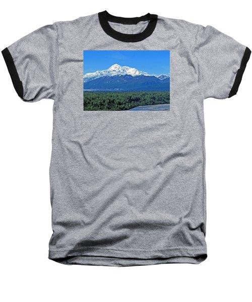 Denali, Aka Mt. Mckinley  Baseball T-Shirt