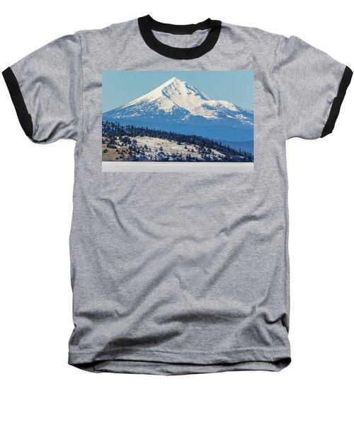 Baseball T-Shirt featuring the photograph Mt. Mcloughlin by Marc Crumpler