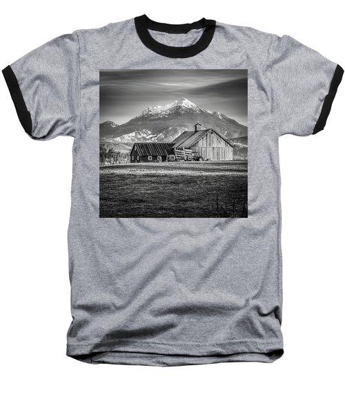 Mt Pilchuck Baseball T-Shirt by Tony Locke