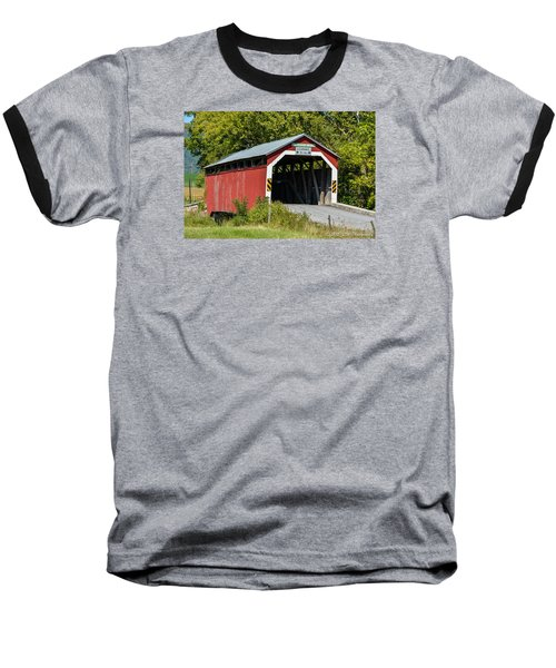 Mt. Pleasant Covered Bridge Baseball T-Shirt