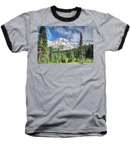Mt. Rainier National Park Baseball T-Shirt