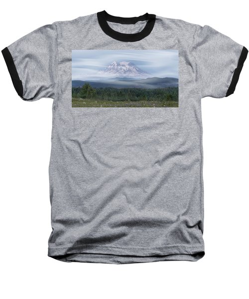 Mt. Rainier Baseball T-Shirt by Patti Deters