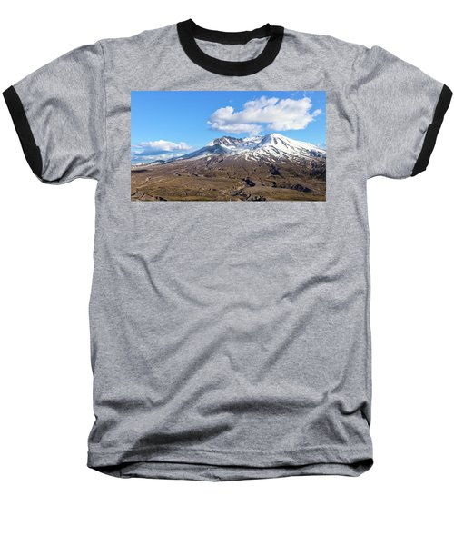 Mt Saint Helens Baseball T-Shirt