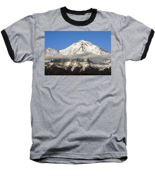 Mt. Shasta Summit Baseball T-Shirt