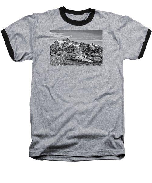 Mt. Shuksan Baseball T-Shirt by Sabine Edrissi