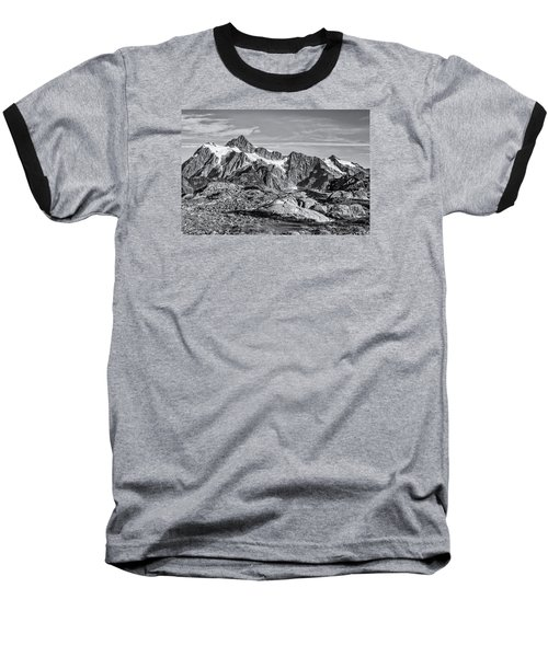 Mt. Shuksan Baseball T-Shirt