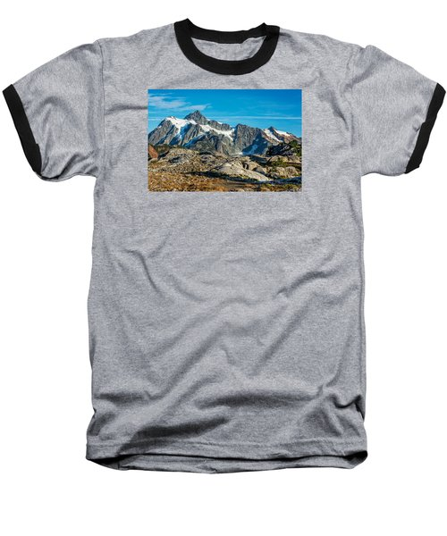 Mt. Shuksan, Washington Baseball T-Shirt