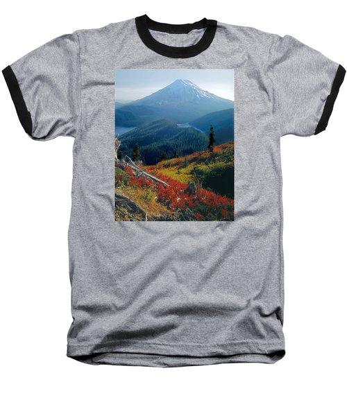 1m4903-mt. St. Helens 1975  Baseball T-Shirt