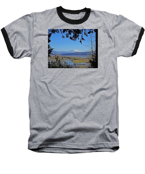 Baseball T-Shirt featuring the photograph Mt St Helens by Jack Moskovita