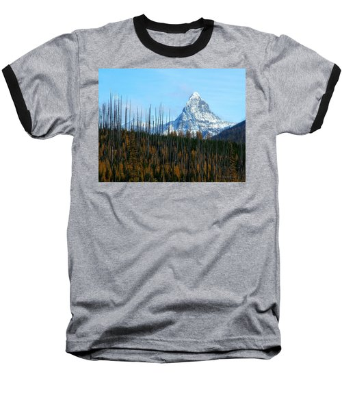 Mt St Nicolas After The Fire Baseball T-Shirt