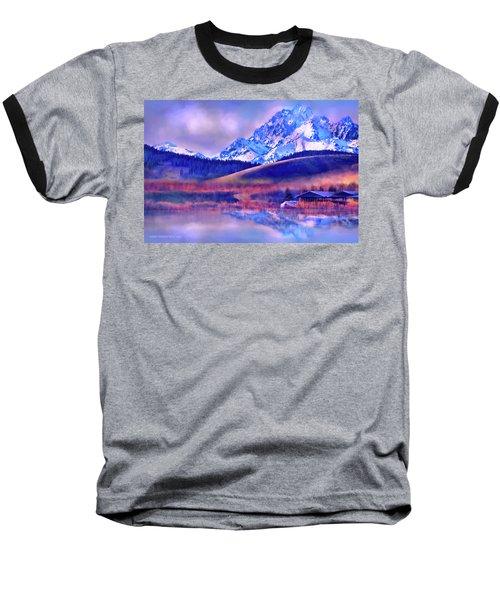 Mt. Stuart Baseball T-Shirt by Kari Nanstad