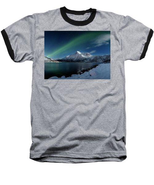 Mt Stortinden Baseball T-Shirt