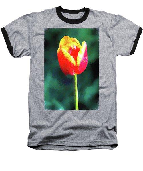 Mt Vernon Tulip Baseball T-Shirt