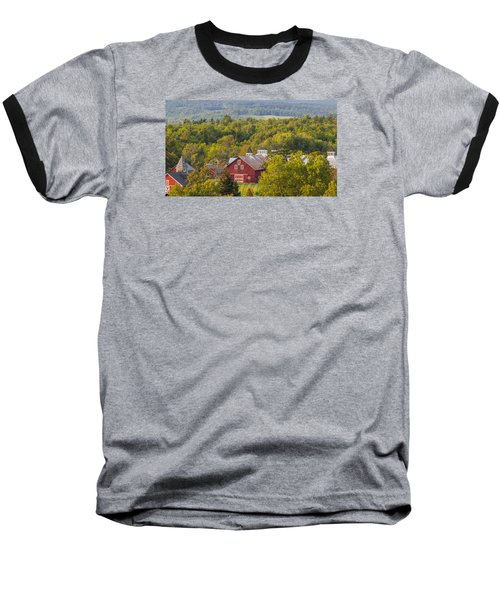 Mt View Farm In Summer Baseball T-Shirt