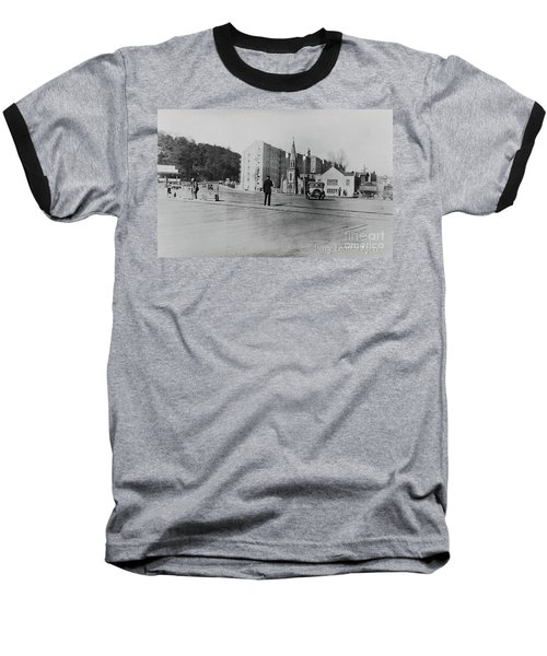 Baseball T-Shirt featuring the photograph Mt. Washington Church  by Cole Thompson