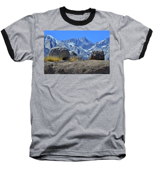 Mt. Whitney - Highest Point In The Lower 48 States Baseball T-Shirt