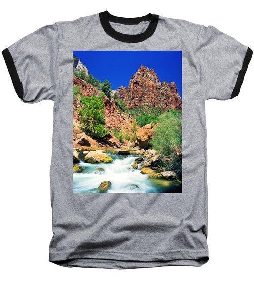 Mt.moroni / Virgin River Baseball T-Shirt