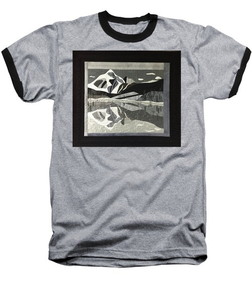Mt.shuksan In Gray Baseball T-Shirt
