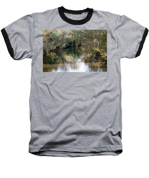 Baseball T-Shirt featuring the photograph Muckalee Creek by Jerry Battle