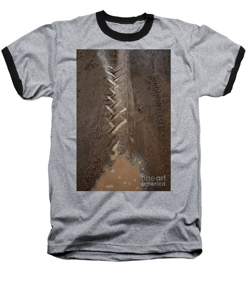 Baseball T-Shirt featuring the photograph Mud Escape by Stephen Mitchell