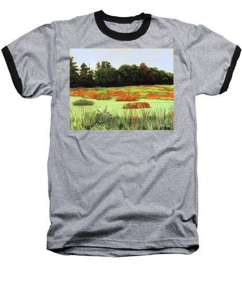 Mud Lake Marsh Baseball T-Shirt