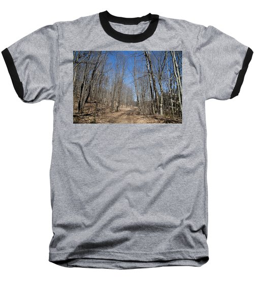 Baseball T-Shirt featuring the photograph Mud Season In The Adirondacks by David Patterson