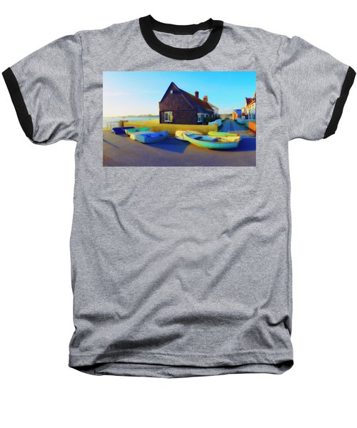 Muddage  Rowers Baseball T-Shirt by Jan W Faul