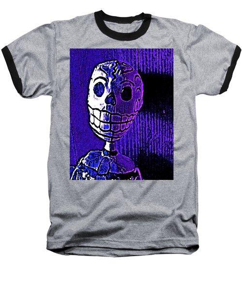 Muertos 2 Baseball T-Shirt by Pamela Cooper