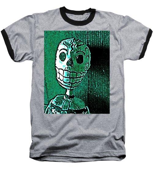 Muertos 4 Baseball T-Shirt by Pamela Cooper