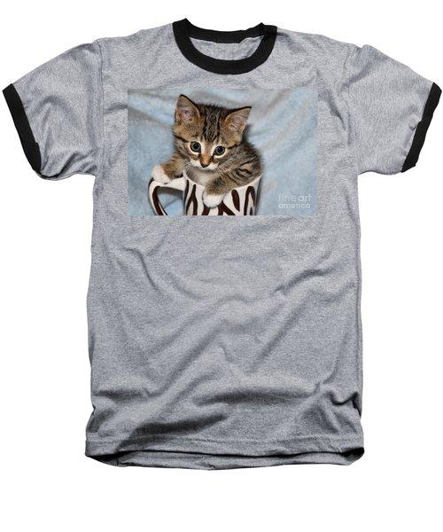 Mug Kitten Baseball T-Shirt