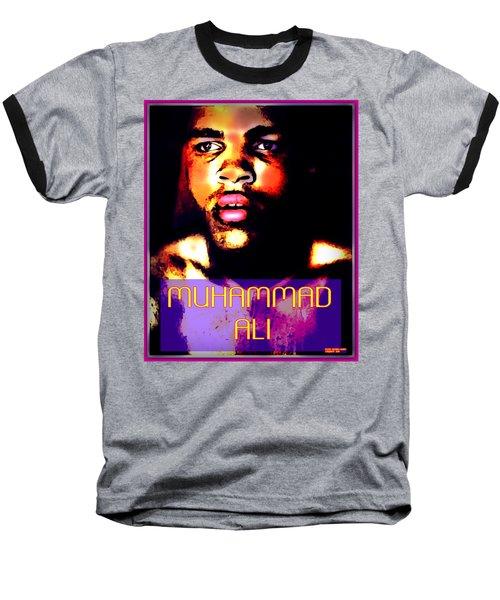 Muhammad Ali V Baseball T-Shirt