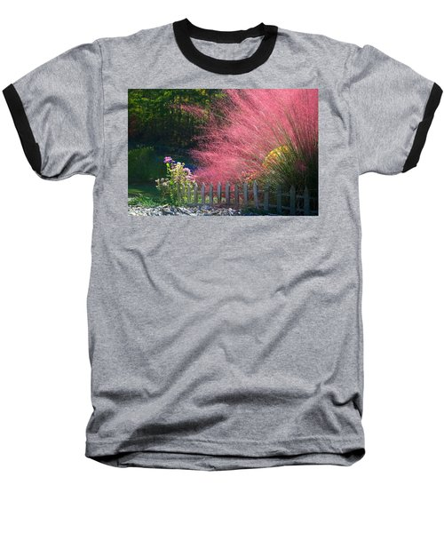 Baseball T-Shirt featuring the photograph Muhly Grass by Kathryn Meyer