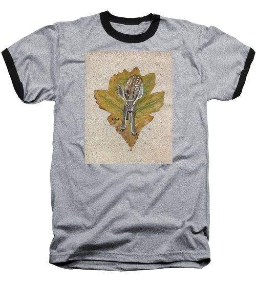 Mule Dear Fawn Baseball T-Shirt by Ralph Root
