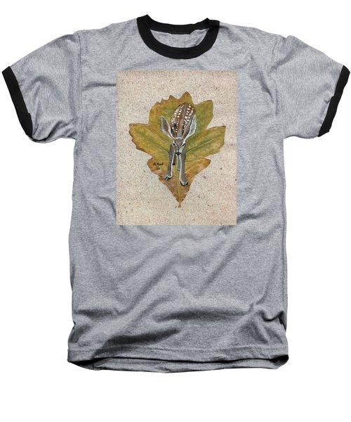 Mule Dear Fawn Baseball T-Shirt