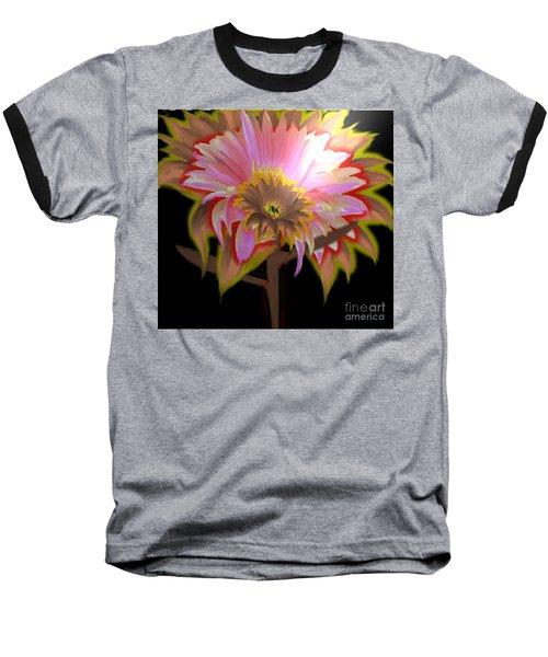 Multi Color Daisy Baseball T-Shirt