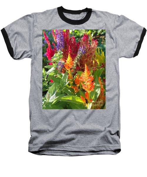 Multi-color Energy Baseball T-Shirt