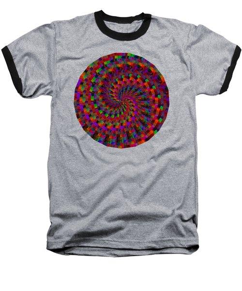 Multicolored Twist Baseball T-Shirt